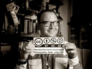 Jonathan Worth's picture of Cory Doctorow