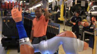Ford has taught its factory robots to make coffee
