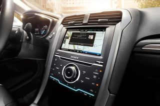 SYNC with MyFord Touch with Siri Eyes-Free