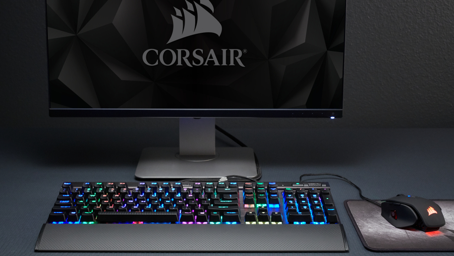 Corsair's latest mechanical keyboards are basically light