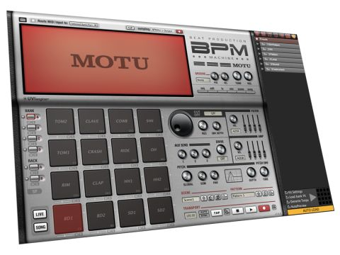 MOTU BPM review | MusicRadar
