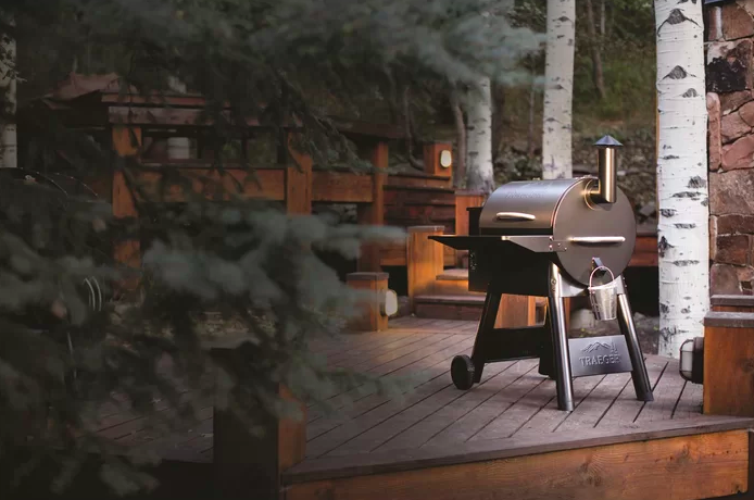 Wood-fired grill