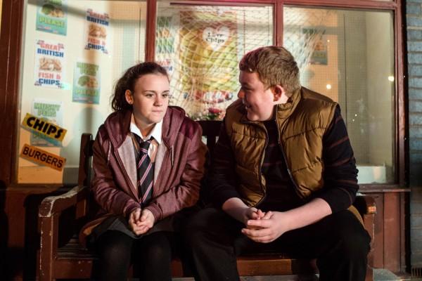 Ellie Leach and Colson Smith star in Coronation Street
