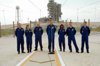 NASA Begins Mock Countdown for Next Shuttle Launch