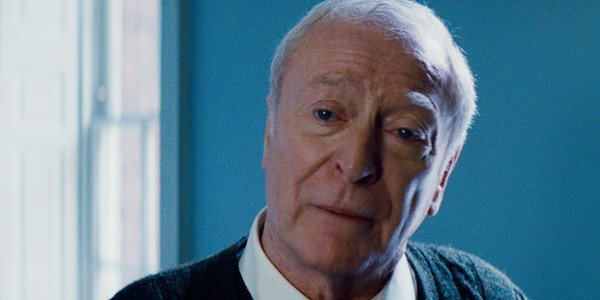 Michael Caine as Alfred Pennyworth in the Dark Knight Rises