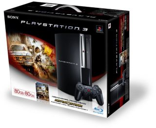 80GB PS3 - worth the £300 if you are a fan of awesome arcade games such as Konami's new GTi Club+