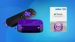 Roku LT 100 iTunes card
