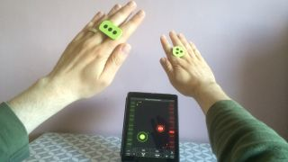 The iRing is at its most useful when set up to control parameters of your favourite iOS or Mac music software.