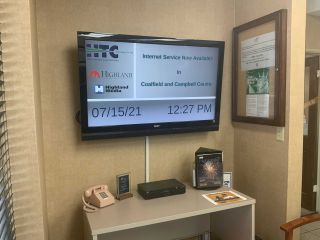 Carousel Digital Signage Engages Customers at Tennessee Telco