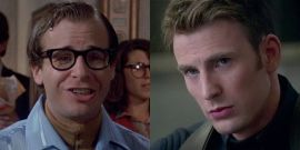 Looks Like Chris Evans Is Not Happy About Rick Moranis Getting Sucker Punched