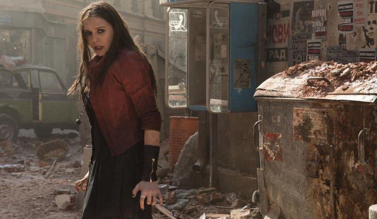 Avengers: Age of Ultron Wanda in an alleyway