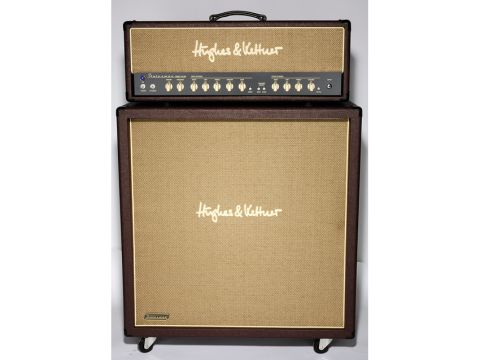 The Statesman Dual EL34 Head and matching STM412 cab.