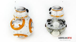 BB-8 droid cut-out