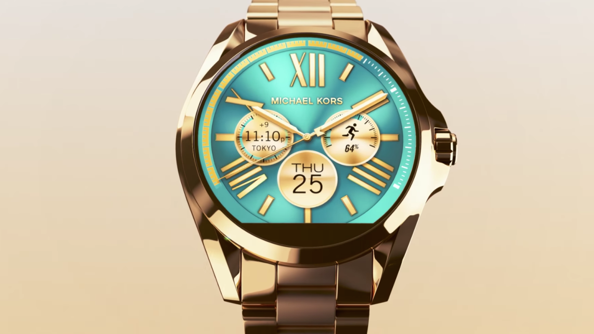 Wearables get fashionable with new Michael Kors Access ...