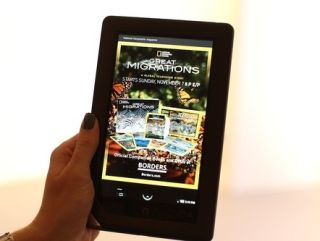 Barnes and Noble launch Nook Color - a full-colour Android tablet PC focused on books, magazines and newspapers