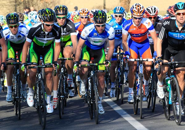 Matt Goss and GreenEdge, Tirreno-Adriatico 2012, stage three