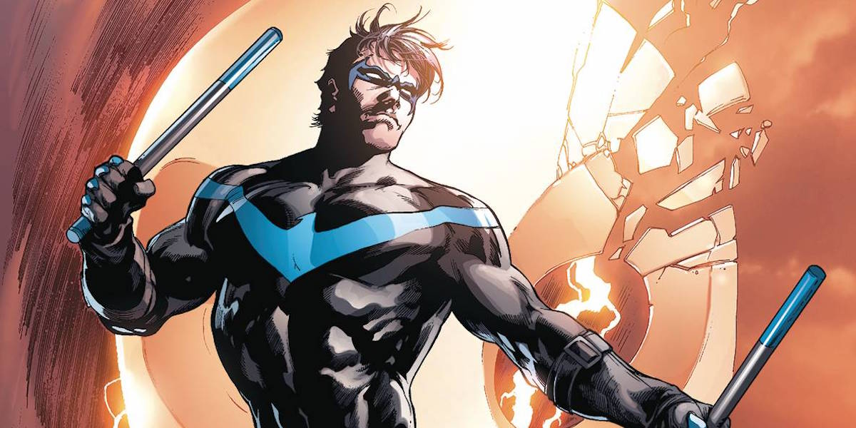 Apparently Nightwing Has Been Delayed Due To The Batman