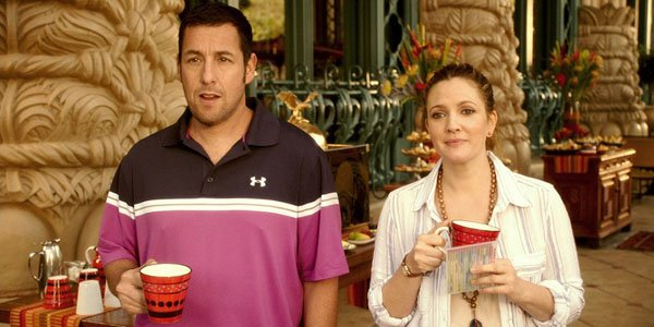 Drew Barrymore and Adam Sandler movies together