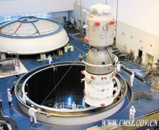 China's Tiangong space station module