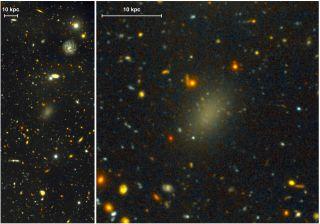 ultra-faint spheroidal galaxy color image