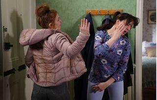 EastEnders tonight Tiffany hits Sonia