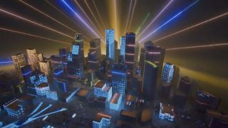 Houston's Museum of Natural Science's Wiess Energy Hall recently installed Energy City, a 2,500-square-foot 3D landscape of Houston that is animated by a 30-minute projection mapping show driven by Vivtek projectors.