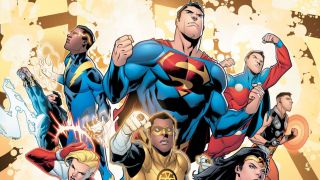 Justice League vs. The Legion of Super-Heroes #1