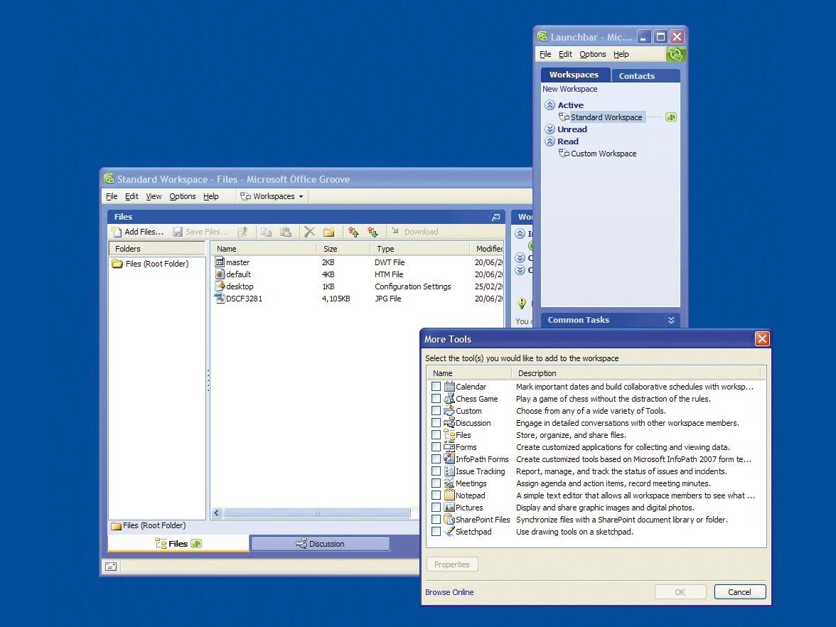 Microsoft Office Groove 2007 Review