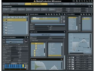 MDrummer2 is said to be easy to use.