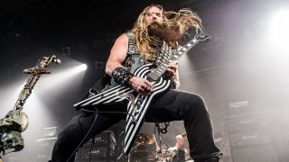 Zakk, doing what he does best onstage in 2014