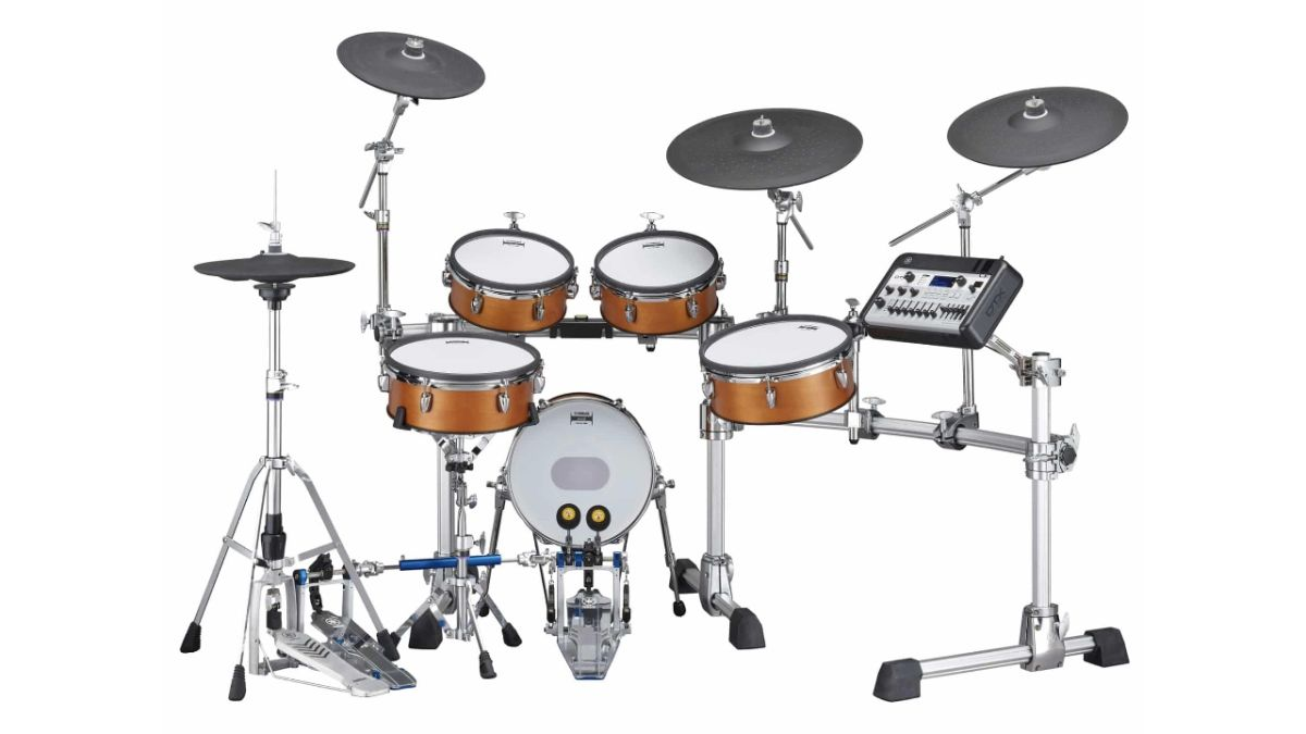 Yamaha unveils DTX8 and DTX10 wood-shell electronic drum sets