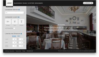 Bose Unveils Online Business Music System Designer for Audio Integrators