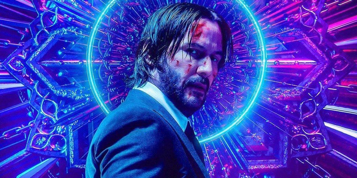 Keanu Reeves John Wick Chapter 3 Parabellum poster
