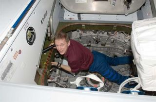 Europe's First Space Station Commander Takes Charge