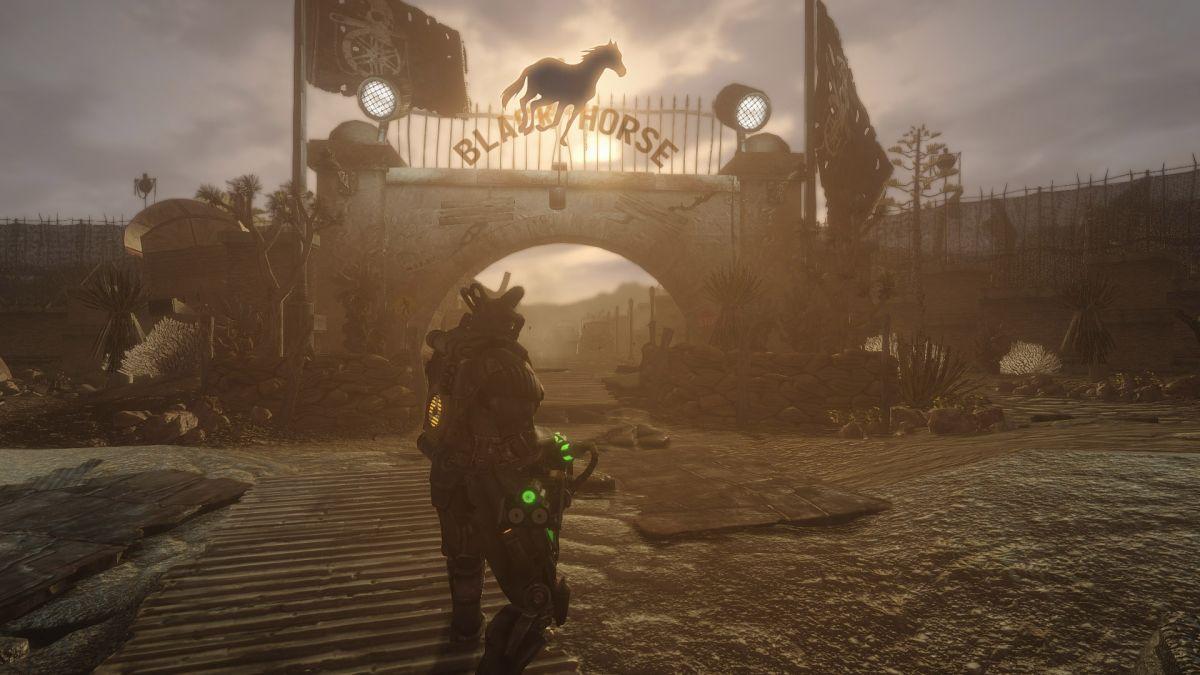 Fallout new vegas willow romance scene