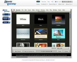Video Tutorial: Using the new themes in Keynote '09