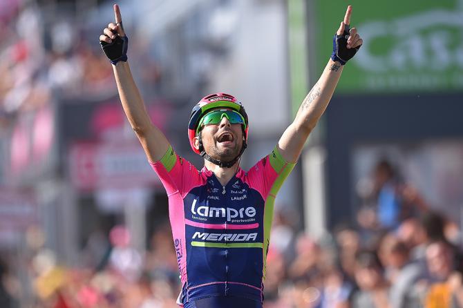 Diego Ulissi (Lampre-Merida) wins stage 4 of the Giro d'Italia
