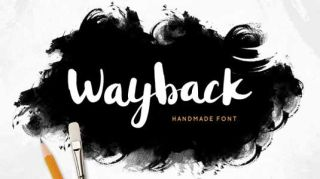 Font of the day: Wayback