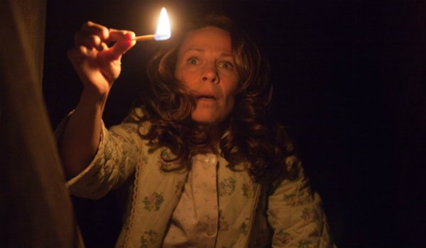 scared lili taylor The Conjuring
