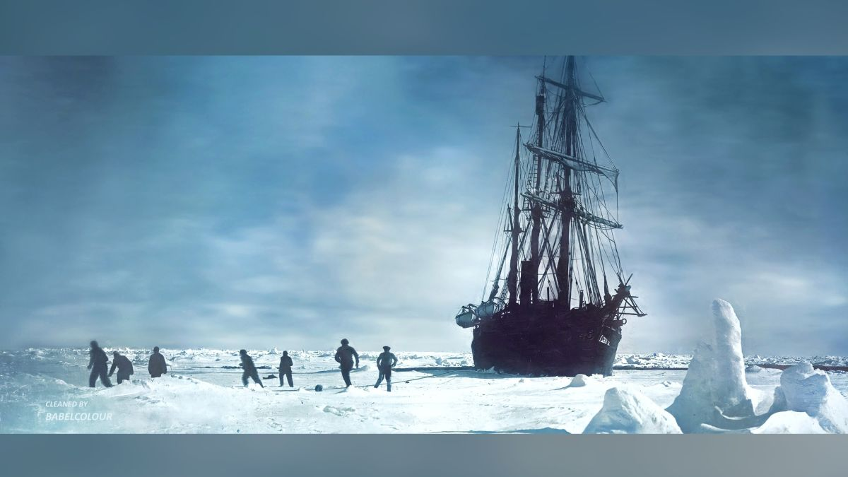 These retouched photos of Shackelton's 1914 expedition look like they were taken yesterday