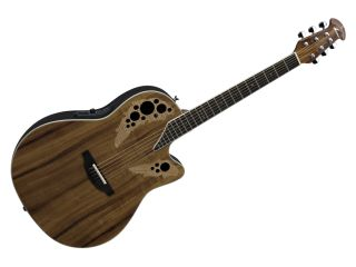 The Standard Elite 2778AX FKOA s koa top features two flame maple inlays