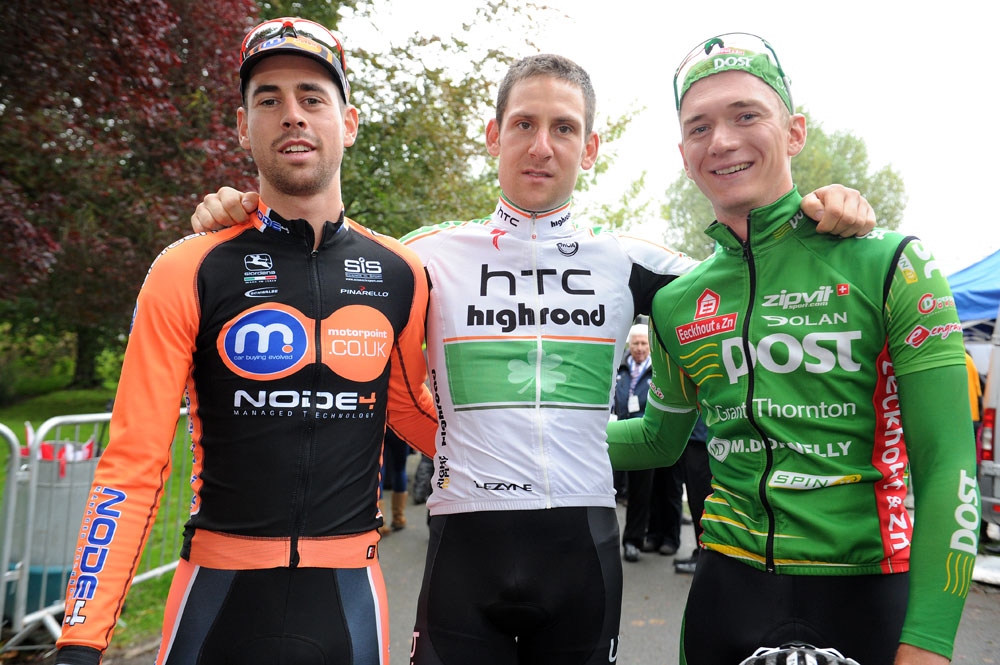 McEvoy, Brammeier and McNally, Tour of Britain 2011, stage two (cancelled)