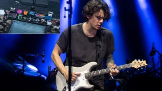 John Mayer's 2021 pedalboard