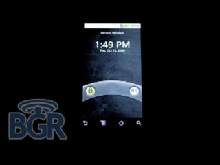 Motorola s new Android phone in the dark