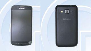 Galaxy S4 Active image from Tenaa