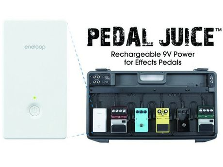 sanyo unveils pedal juice rechargeable battery for live instruments musicradar. Black Bedroom Furniture Sets. Home Design Ideas