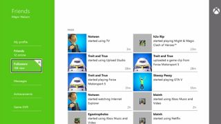 Xbox One Friends App is a social network for gamers and looks pretty tasty