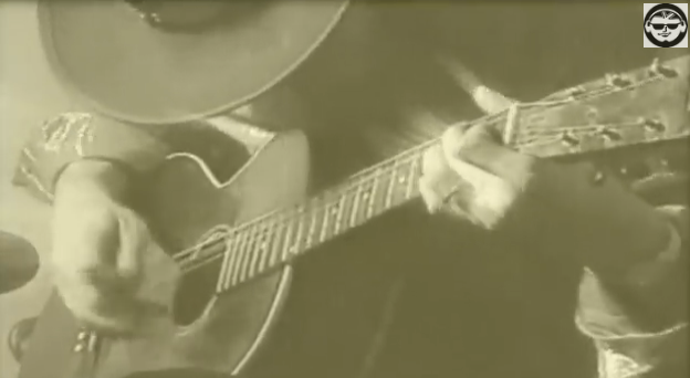 Stevie Ray Vaughan's 'Lost Acoustic Blues' from 1987 —Video