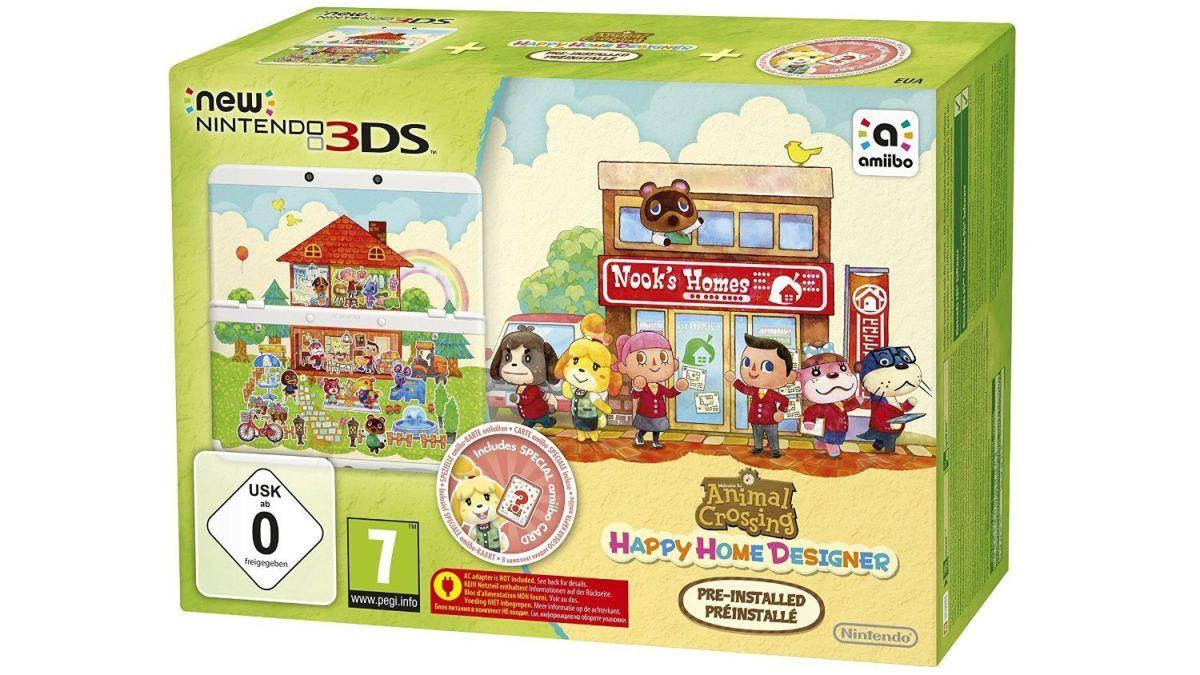 Nintendo S With Happy Home Designer