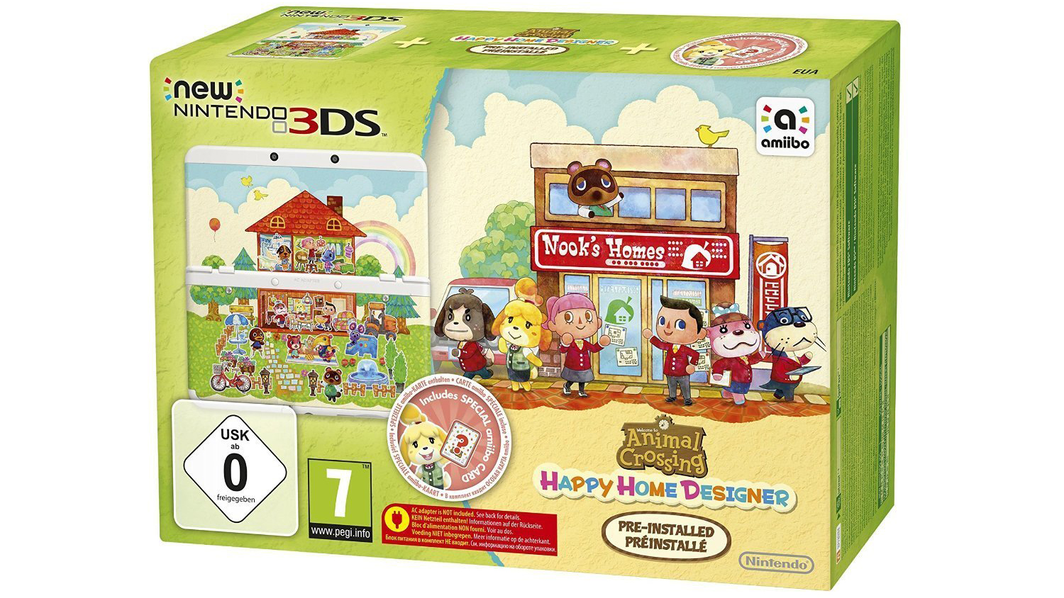 Pick up the New Nintendo 3DS with Happy Home Designer for only ...